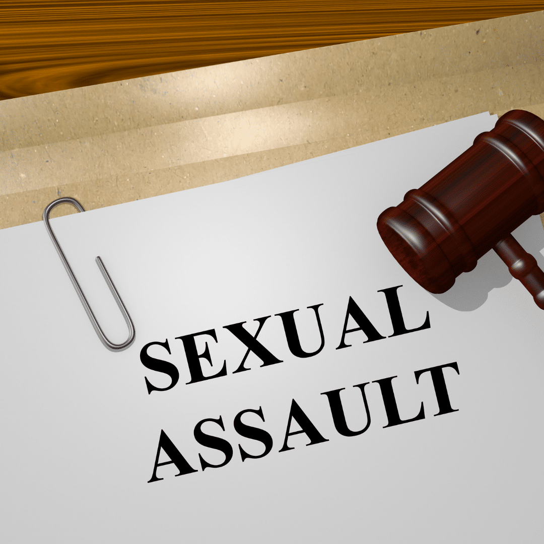What should you do after a sexual assault?